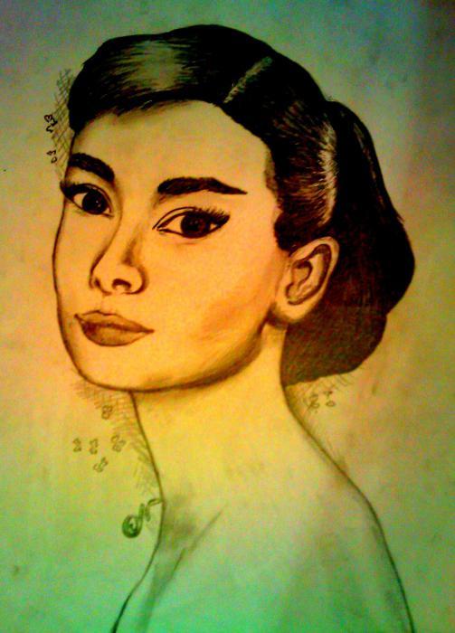 Audrey Hepburn por Ninu